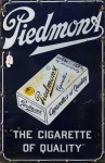 Piedmont Cigarettes Porcelain Sign