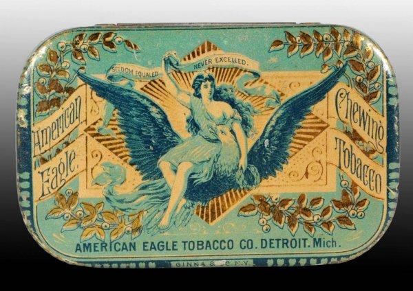 American Eagle Flat Pocket Tin
