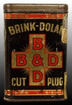 Brink Dolan Cut Plug Vertical Pocket Tin