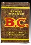 B.C. BC B C Ready Rubbed