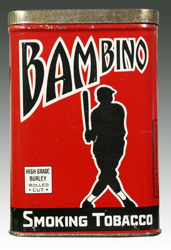 Bambino Smoking Tobacco | Antique Tobacco Tins & Collectibles