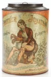 Brother Jonathan Chewing Tobacco Canister Tobacco AdvertisingTin