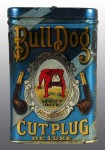 Bull Dog Cut Plug Tin