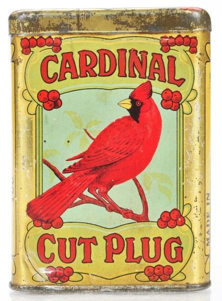 Cardinal Cut Plug Tin