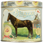 Alcazar 50 Cigar Advertising Tin