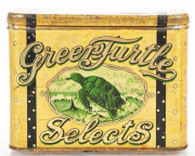 Green Turtle Selects 100 Cigar Advertising Tin