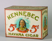 Kennebec Five Cent Havana Cigar Advertising Tin