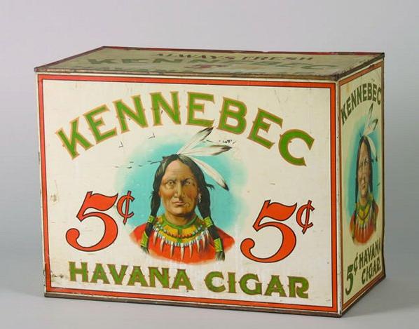 Kennebec Cigar Tin Antique Tobacco Tins Amp Collectibles