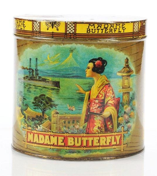 Madame Butterfly Cigar Tin