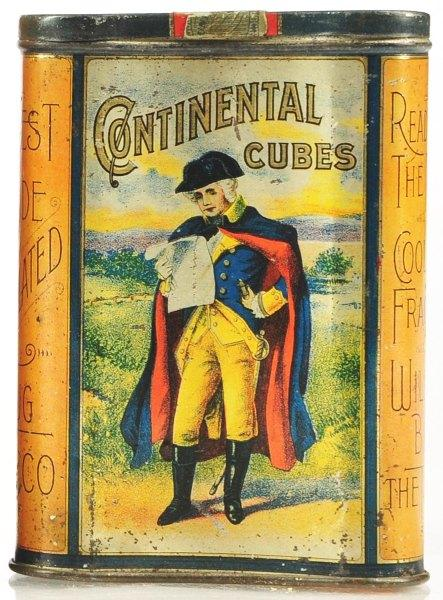Continental Cubes Vertical Pocket Tin