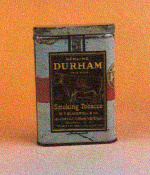Genuine Durham Smoking Tobacco Tin