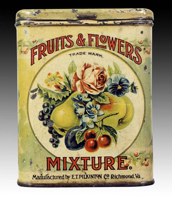 Fruits and Flowers Mixture Tin