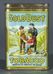 Gold Dust Vertical Pocket Tobacco Tin
