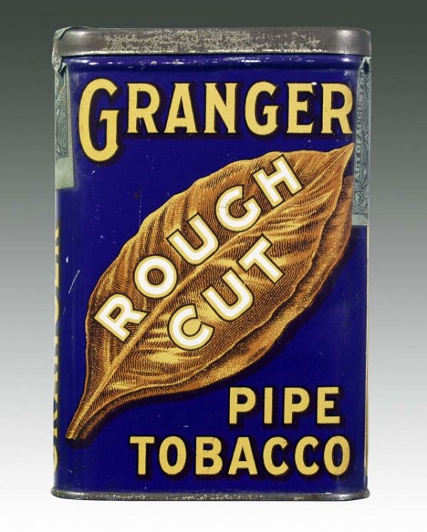 Granger Rough Cut Pipe Tobacco Vertical Tin