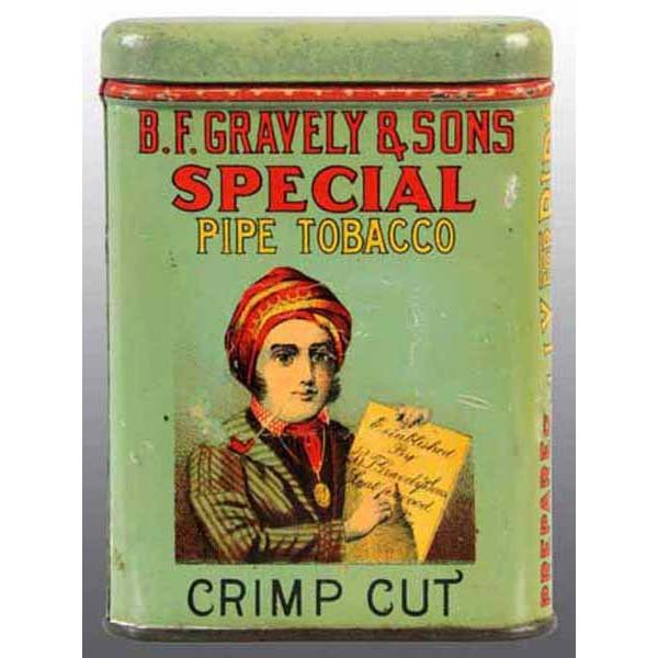 B F Graveley Crimp Cut Pocket Tin