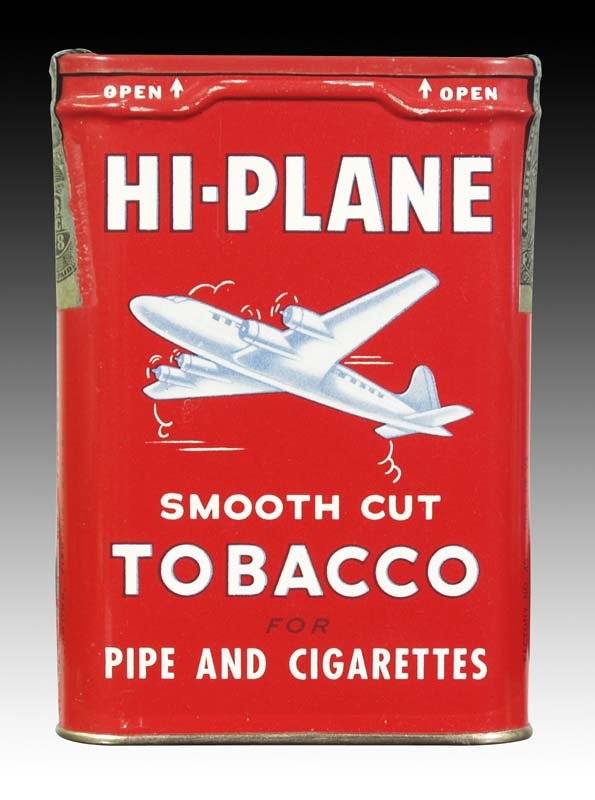 Hi Plane Tobacco Tin, HiPlane Tobacco Tin
