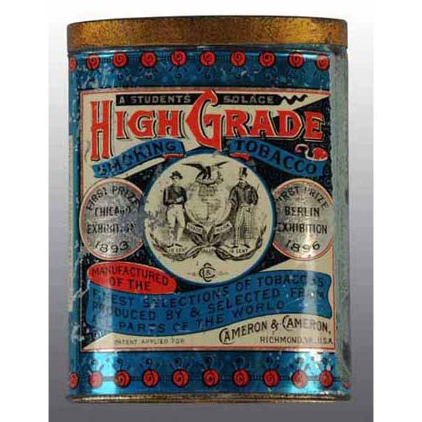 High-Grade Smoking Tobacco Tin