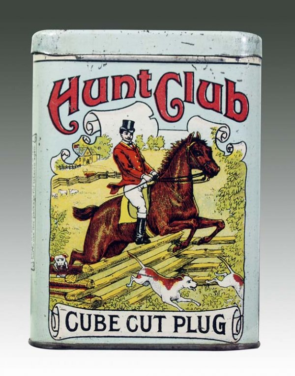 Hunt Club Cube Cut Plug Vertical Pocket Tin