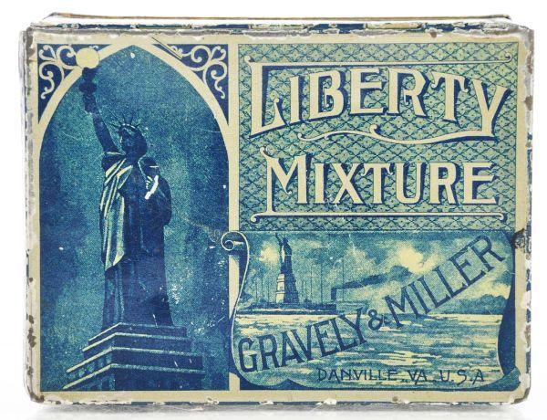 Liberty Mixture Square Corner Tin