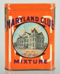 Maryland Club Flat Top Tin Vertical Pocket Tin