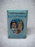 Master Mason Ready Rubbed Smoking Tobacco Vertical Pocket Tin