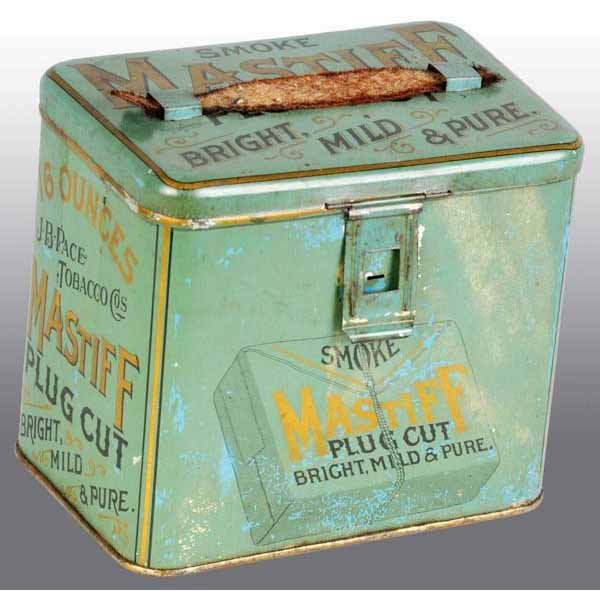 Mastiff Tobacco Advertising Lunchbox Tin