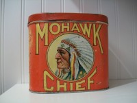 Mohawk Chief Cigar Tin