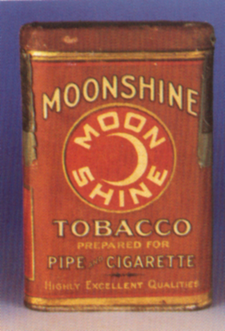 Moonshine Tobacco Tin | Antique Tobacco Tins & Collectibles
