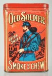 Old Soldier Extra Sweet Smoke or Chew Vertical Pocket Tin