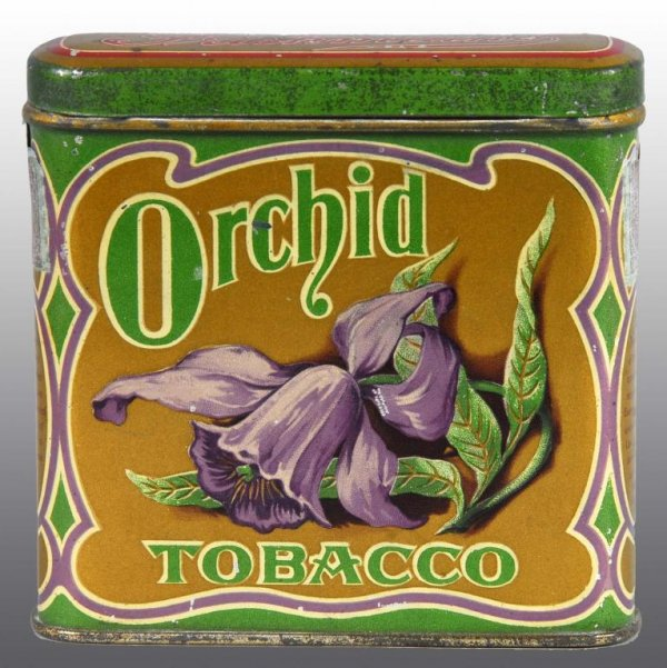 Orchid Pocket Tobacco Tin