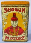 Shogun Mixture Vertical Pocket Advertising Tobacco Tin