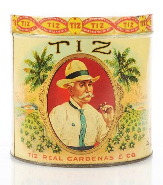 Tiz Cigar Canister