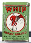 Whip Ready Rolled Vertical Pocket Advertising Tobacco Tin