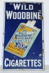 Wild Woodbine Cigarettes Porcelain Sign