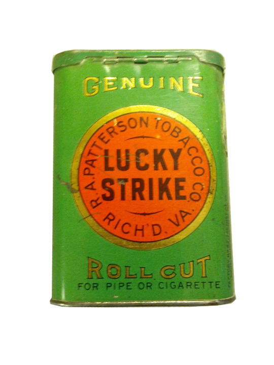Lucky Strike Tobacco Pocket Tin
